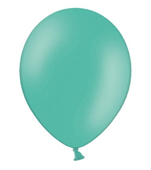 Standard-Luftballons - aquamarin - 100 Stück