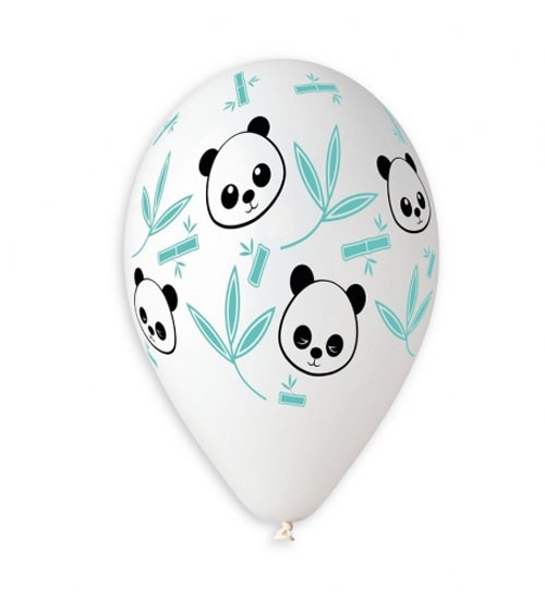 "Luftballons ""Panda & Bambus"" - 5 Stück"