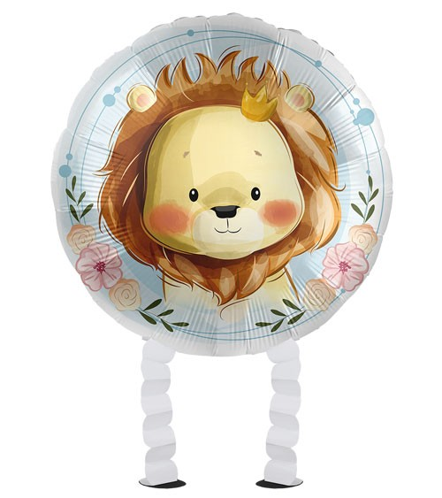 "Walking-Folienballon ""Cute Lion"""