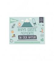 """Milestone Karten-Set """"Babys erste Momente in der Natur"""" - 6-teilig"""