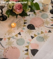 """Tischläufer """"Glitter Party"""" - 30 cm x 5 m"""