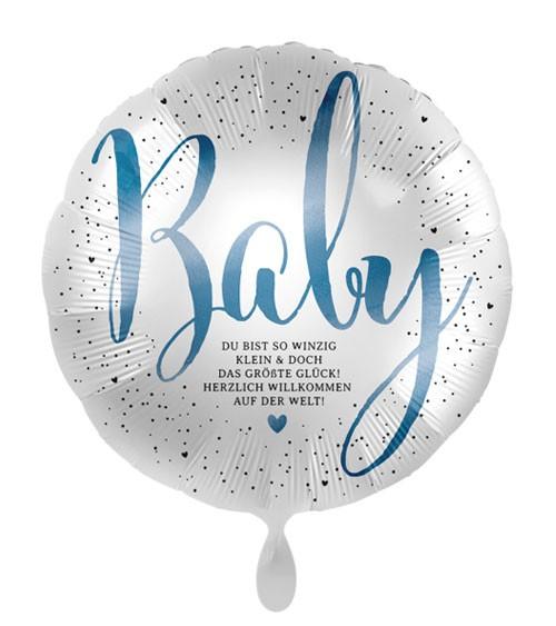 "Folienballon ""Little Cute Baby Boy"""