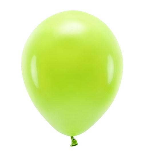 Standard-Ballons - apfelgrün - 30 cm - 10 Stück