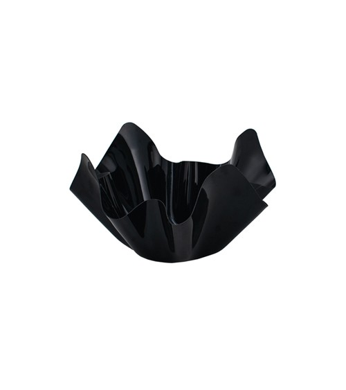 Servierschale - schwarz - 13 x 7 cm