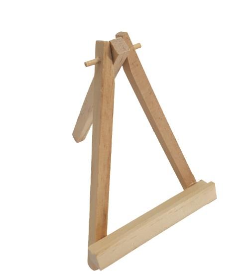 Staffelei aus Holz - 14 cm
