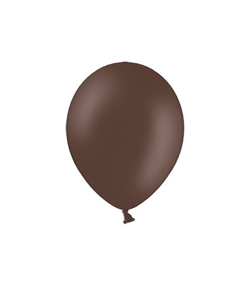 Mini-Luftballons - braun - 12 cm - 100 Stück