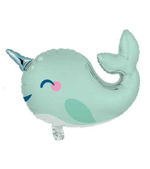 "Supershape-Folienballon ""Narwal"" - 69 x 48 cm"