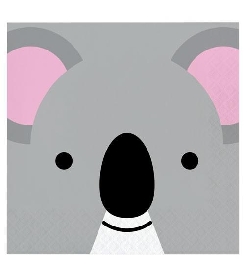 """Servietten """"Animal Faces"""" - Koala - 16 Stück"""