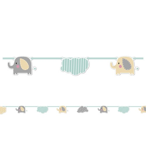"Motivgirlande ""Baby Elefant"" - 2,3 m"