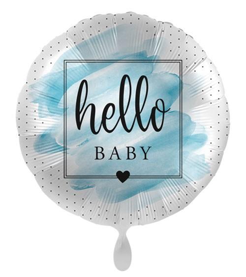 "Folienballon ""Welcome to the World, Baby Boy"""