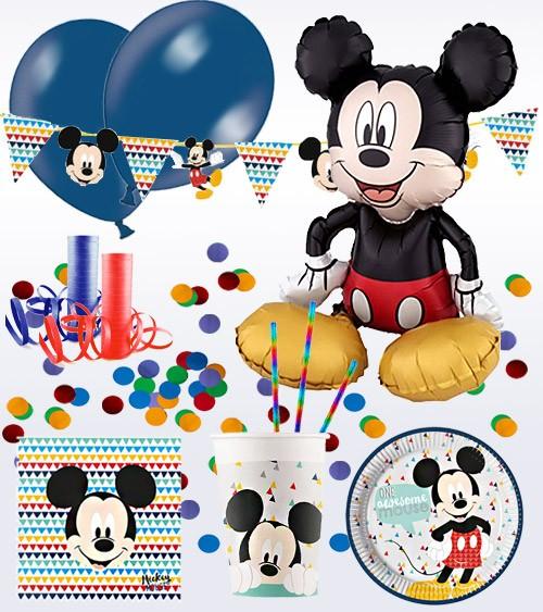 "Deko-Set ""Mickey Maus"" - 71-teilig"