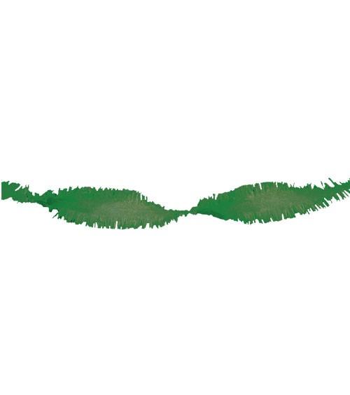 Drehgirlande 24 m - dunkelgrün