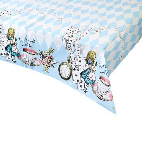 """Papier-Tischdecke """"Alice im Wunderland"""" - 120 x 180 cm"""