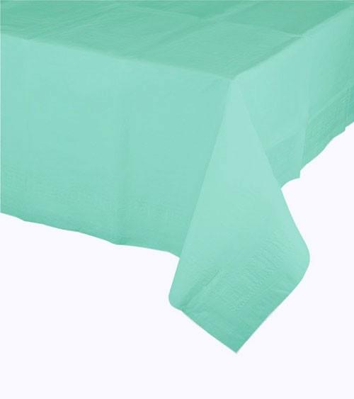 Kunststoff-Tischdecke - mint - 120 x 180 cm