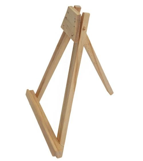 Staffelei aus Holz - 20 cm
