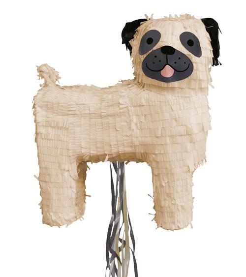 """Zieh-Pinata """"Hund"""" - 34 x 40 x 14 cm"""