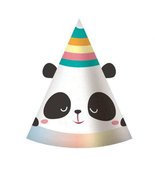 "Partyhüte ""Dreamy Panda"" - 6 Stück"