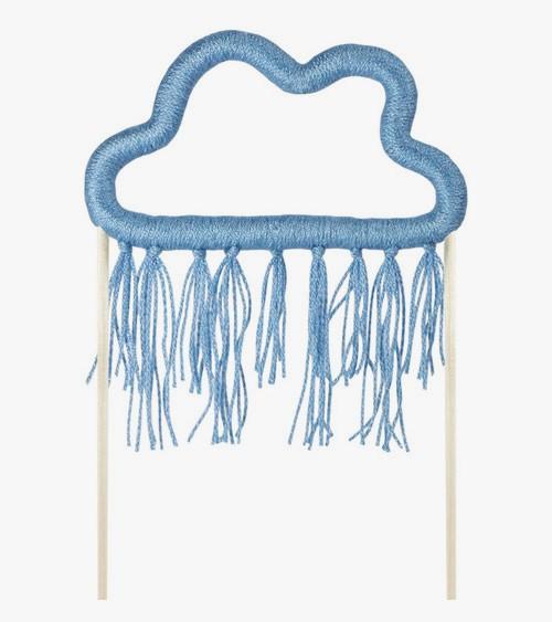 "Cake-Topper aus Baumwolle ""Wolke"""