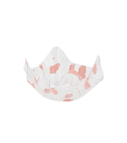 """Servierschale """"Wolken"""" - rosa - 13 x 7 cm"""