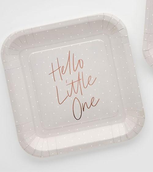 """B-Ware Pappteller """"Hello Little One"""" - 10 Stück"""