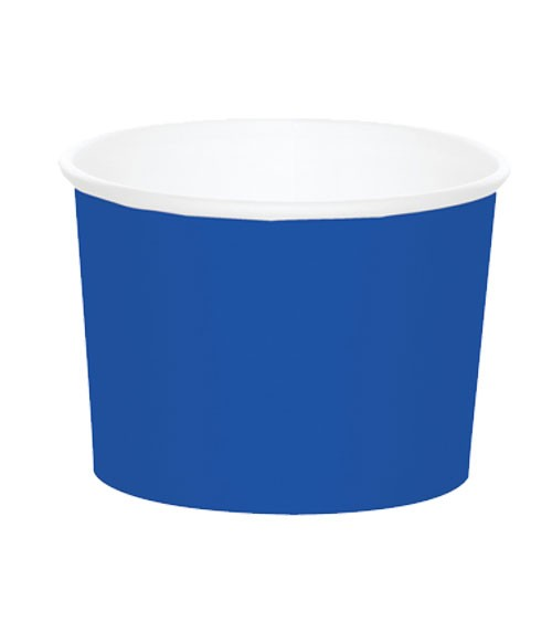 Eisbecher - kobaltblau - 6 Stück