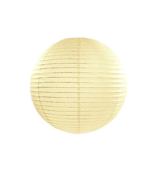 Papierlampion - ivory - 20 cm
