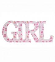 "Holzbuchstaben ""Girl"" - 33,5 x 14,5 x 2 cm"