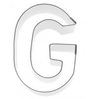 Ausstechform Buchstabe G - 6 cm