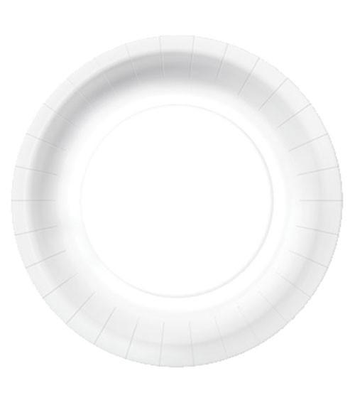 """Pappteller """"Eco"""" - weiß - 10 Stück"""