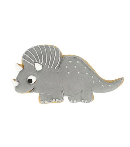 """Ausstechform mit Innenprägung """"Triceratops"""" - 10,5 cm"""