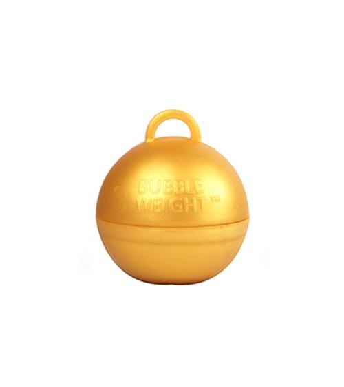 "Ballon-Gewichte ""Bubble"" - gold - 25 Stück"