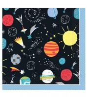 """Servietten """"Outer Space"""" - 16 Stück"""
