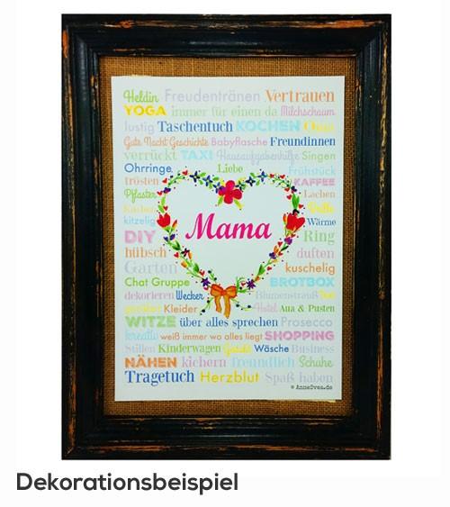 "Poster ""Mama"" - 21 x 29,7 cm"