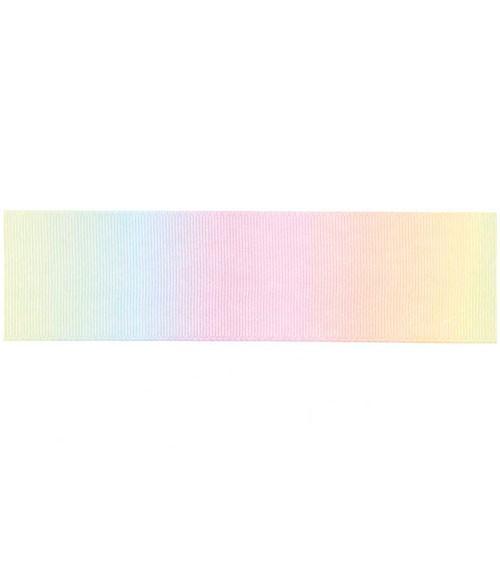 Geschenkband - Farbverlauf pastell - 4 cm x 3 m