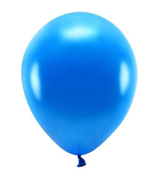 Metallic-Ballons - navyblau - 30 cm - 10 Stück