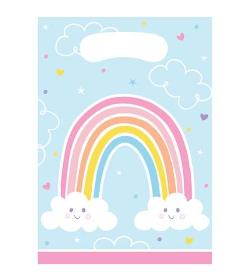 """Mitgebseltüten """"Happy Rainbow"""" - 8 Stück"""