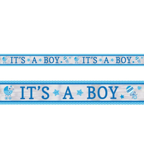 "Folienbanner ""It's a Boy"" - 7,62 m"