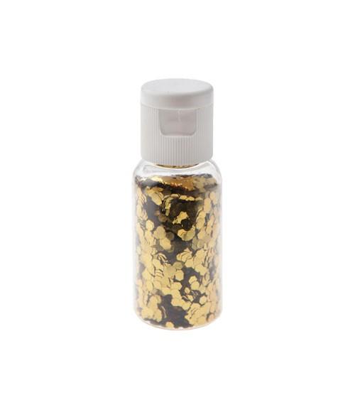 Glitzer-Tischstreu - gold - 15 g