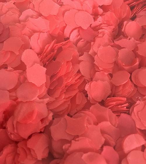 Papierkonfetti - 100 g - rot