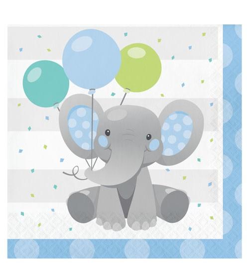 """Servietten """"Little Elephant - Boy"""" - 16 Stück"""