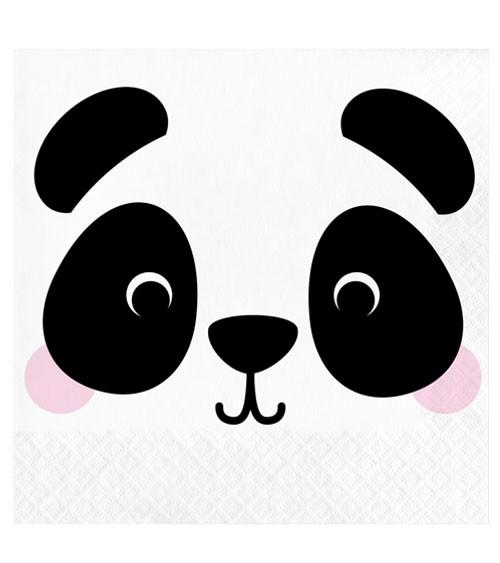 "Servietten ""Animal Faces"" - Panda - 16 Stück"
