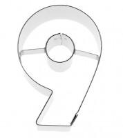 """Ausstechform Zahl """"9"""""""