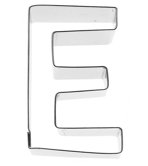 Ausstechform Buchstabe E - 6 cm