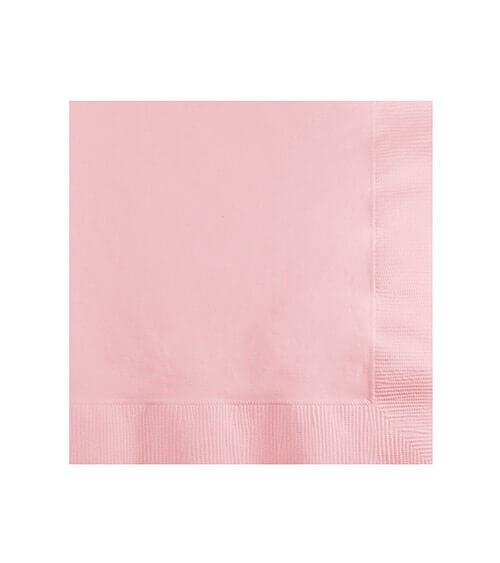 Cocktail-Servietten - rosa - 50 Stück