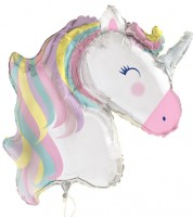 "Riesiger Folienballon ""Einhorn Party"" - 106 cm"