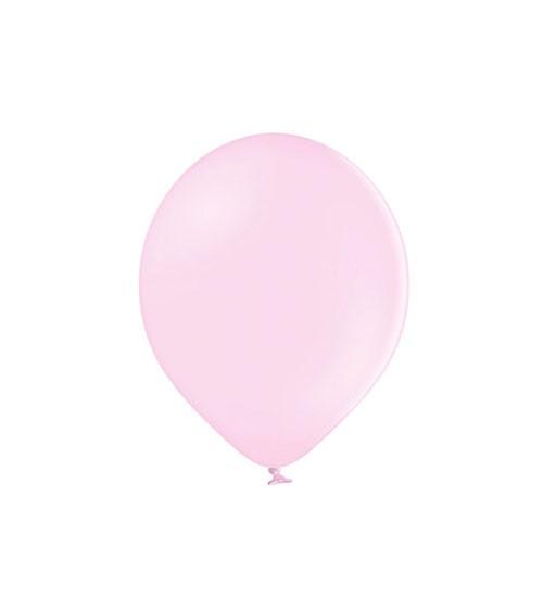 Mini-Luftballons - pastell rosa - 12 cm - 100 Stück