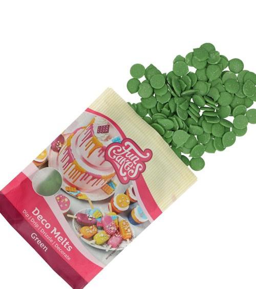 Funcakes Deco-Melts - grün - 250 g
