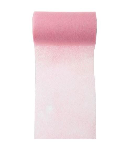 Tischband aus Vlies - rosa - 10 cm x 10 m