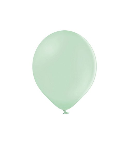 Mini-Luftballons - pastell pistazie - 12 cm - 100 Stück