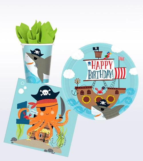 "1. Geburtstag Deko-Set ""Ahoy Birthday"" - 32-teilig"